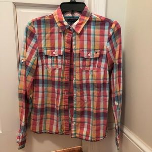 Tommy Hilfiger Rainbow button down shirt